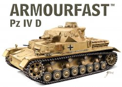 Armourfast 1/72nd Scale WWII German Panzer IV D Tank Kit # 99028