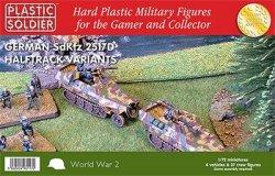 Plastic Soldier Co 1/72 WWII German SdKfz 251/D Halftrack(4) & 37 Crew 7224