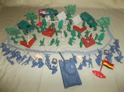TSD WWII Battle Of The Bulge Limited Edition Custom Playset