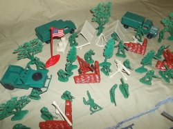 '.Battle Of The Bulge Playset.'