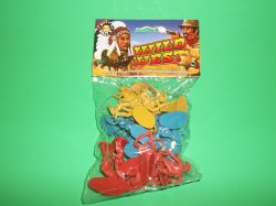 Billy V Western Plastic Cowboys Set 42002