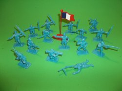 Thumbnail of Armies Of The World Plastic French Soldiers Set