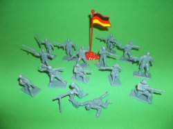 Thumbnail of Armies Of The World Plastic German Soldiers Set