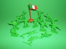 Thumbnail of Armies Of The World Plastic Italian Soldiers Set