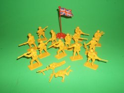 Thumbnail of Armies Of The World Plastic British Soldiers Set