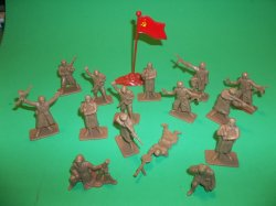 Armies Of The World Plastic Russian Soldiers Set