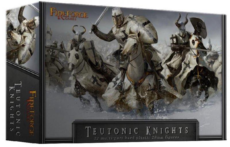 28mm Teutonic Knights Cavalry