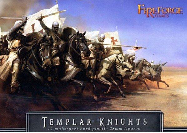 28mm Templar Knights Cavalry