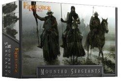 Fireforge Games 28mm Deus Vult Mounted Sergeants (12 Mtd) G3
