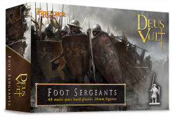 Fireforge Games 28mm Deus Vult Foot Sergeants (48) G4