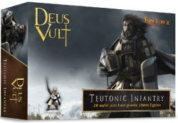 Fireforge Games 28mm Teutonic Infantry (24) G5