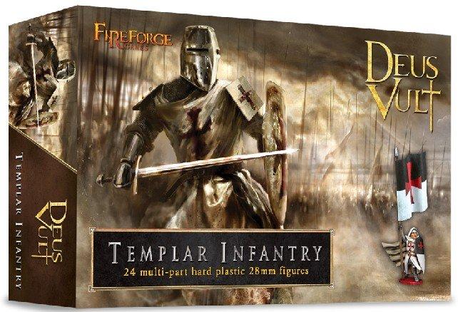 28mm Templar Infantry