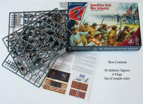 28mm American Civil War Infantry Set