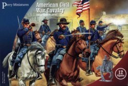 Perry Miniatures 28mm American Civil War Calvary (12 Mtd) 102
