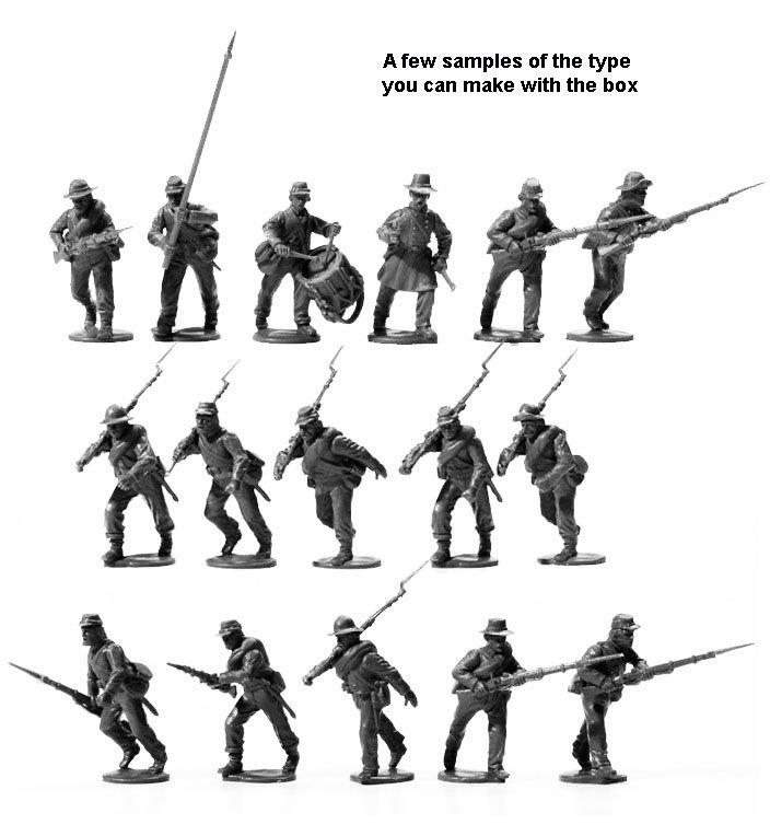 Assortment Of Different Models Assembled