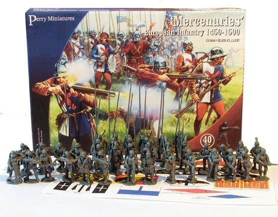 28mm Mercenaries European Infantry 1450-1500