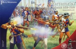 Perry Miniatures 28mm Mercenaries European Infantry 1450-1500 (40) 302