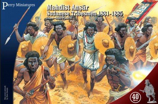 28mm Mahdist Ansar Sundanese Tribesmen