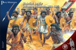 Perry Miniatures 28mm Mahdist Ansar Sundanese Tribesmen 1881-85 (40) 401