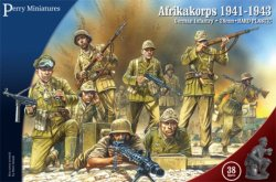Perry Miniatures 28mm German Infantry Afrika Korps 1941-43 (38) 602