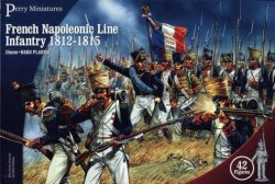 Perry Miniatures 28mm French Napoleonic Line Infantry 1812-15 (42) 201