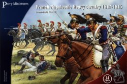 Perry Miniatures 28mm French Napoleonic Heavy Cavalry 1812-15 (14 Mtd) 202