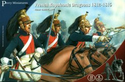 Perry Miniatures 28mm French Napoleonic Dragoons 1812-15 13 Mtd, 8 Standing 203