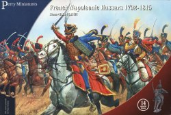 Perry Miniatures 28mm French Napoleonic Hussars 1792-15 (14 Mtd) 204