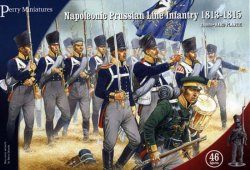 Perry Miniatures 28mm Napoleonic Prussian Line Infantry 1813-15 (46) 205