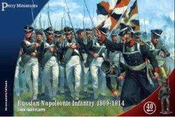 Perry Miniatures 28mm Russian Napoleonic Infantry 1809-14 (40) 206