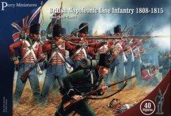 Perry Miniatures 28mm British Napoleonic Line Infantry 1808-15 (40) 501