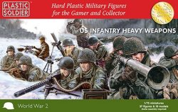 Plastic Soldier Co 1/72 WWII US Infantry (57) w/ Heavy Weapons