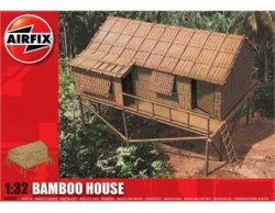 Airfix 1/32nd Scale Bamboo House Pacific WWII Diorama Model Kit