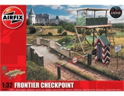 Airfix 1/32nd Scale WWII Frontier European Checkpoint Plastic Model Kit