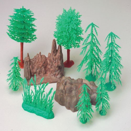 vintage plastic model kits with Forest Landscape Plastic Diorama Trees And Rocks Set on 1966 Batmobile With Batman And Robin Figures 1 25 Scale Polar Lights Plastic Kit Pol920 in addition  likewise Supermarine Spitfire Nightfighter moreover Auroraprisoner in addition Forest landscape plastic diorama trees and rocks set.