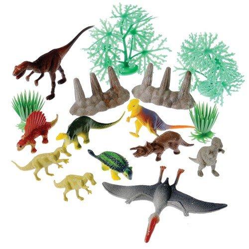 Dinosaurs And Landscape Pcs