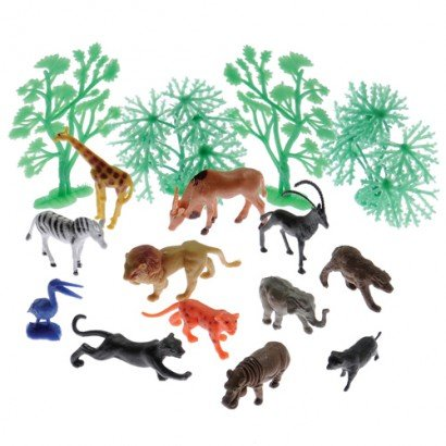 With Animals And Trees