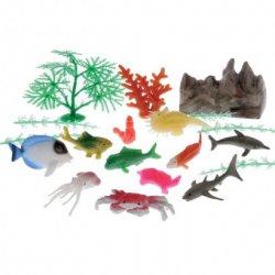 Ocean Fish And Water Landscape Plastic 20 Piece Set