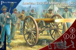 Perry Miniatures 28mm American Civil War Artillery 1861-65 105