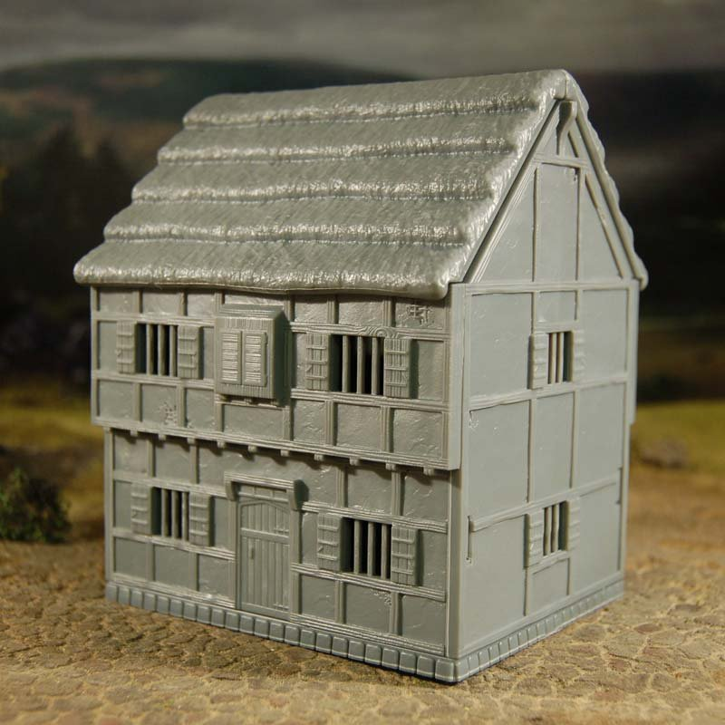 Tabletop Workshop 28mm Hard Plastic Medieval 2 Story
