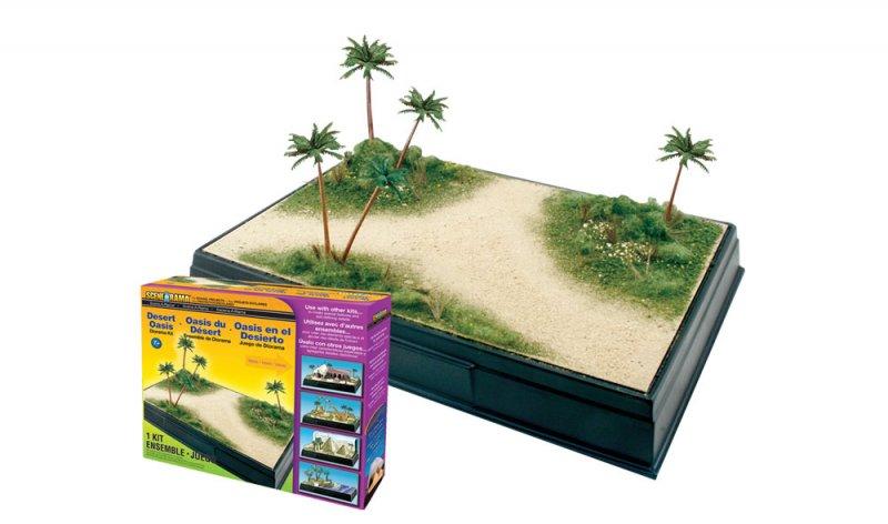 Scene-A-Rama Desert Oasis Diorama Kit 4112