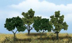 Scene-A-Rama Ready Made Deciduous Trees (4/pk) 4150