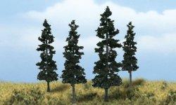 Scene-A-Rama Ready Made Conifer Trees (4/pk) 4151