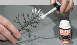 '.Hob-e-Tac Glue.'