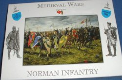 A Call To Arms 54mm Medieval Norman Infantry Figures Set