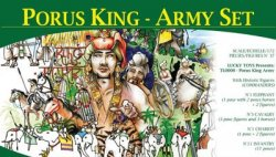 Lucky Toys 1/72nd Ancient PORUS King-Army Warriors Set