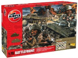 Airfix 1/72nd Scale WWII Battlefront Gift Set