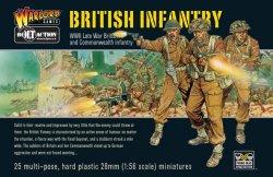 Warlord Games 28mm Bolt Action: WWII Late War British Infantry (25) (Plastic)