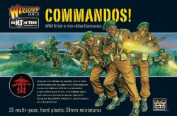 Warlord Games 28mm Bolt Action: WWII British or Inter-Allied Commandos (25)