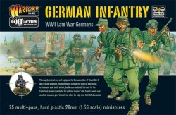 Warlord Games 28mm Bolt Action: WWII Late War German Infantry (25) (Plastic)